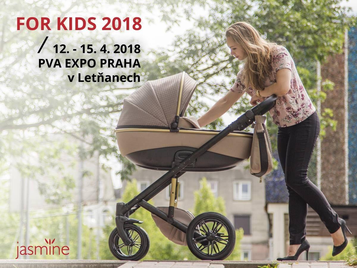 Kočárky Jasmine budou i na veletrhu FOR KIDS 2018