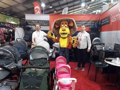 Zhodnocení veletrhu For Kids 2018 - 1736278 - na For Kids s maskotem veletrhu