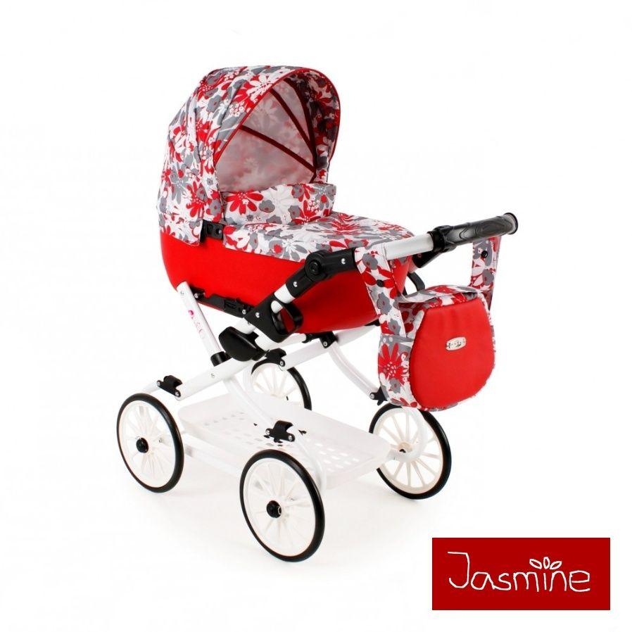 velký kočárek pro panenky Jasmine Kids V2