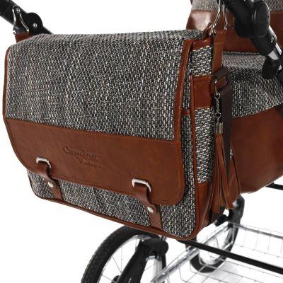 kožená taška ke kočárku Jasmine Camino Vintage