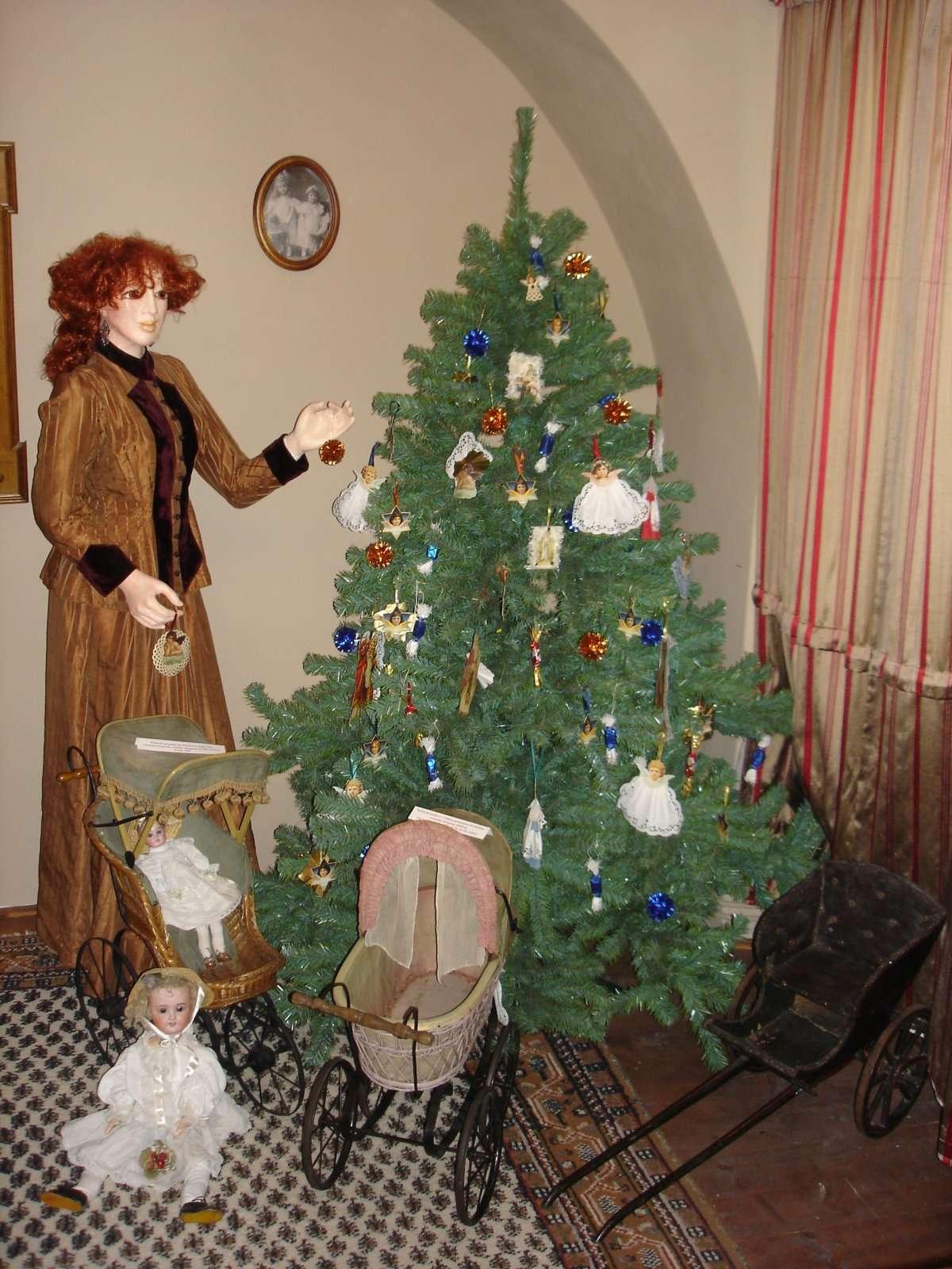 Muzeum kočárků Mělník - expozice vánoce